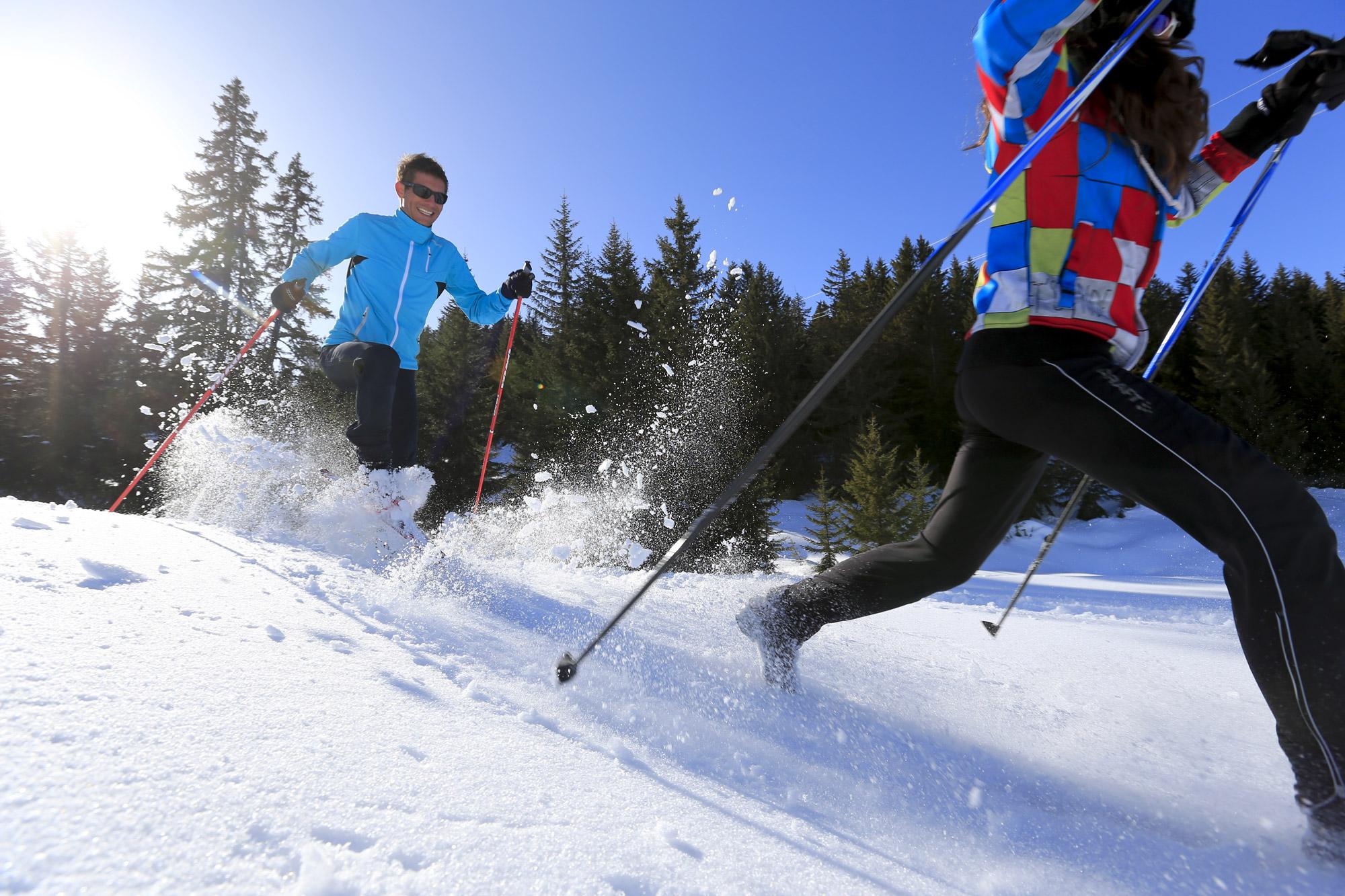Ski de randonnée autour de l'hôtel restaurant Le Tillau, Pontarlier, Vallorbe