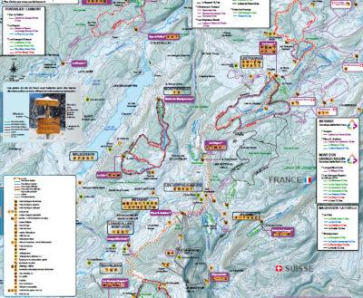Carte du domaine skiable