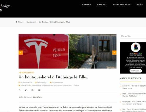 HotelLodgePro parle du Tillau