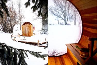 Sauna au Tillau